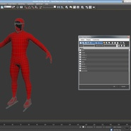 Speed Skater Suit Generic. Preview 20
