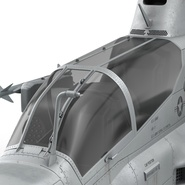 Attack Helicopter Bell AH 1Z Viper Rigged. Preview 54