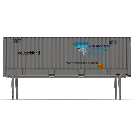 Swap Body Container ISO. Render 9