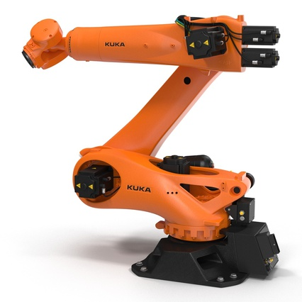 Kuka Robots Collection 5. Render 40
