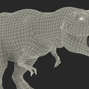 Tyrannosaurus Rex Rigged for Maya. Preview 35