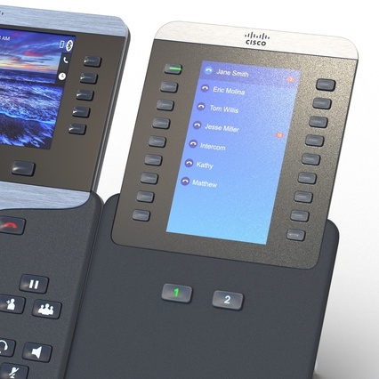 Cisco IP Phones Collection 6. Render 25
