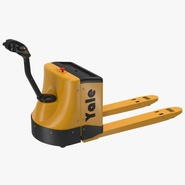 Powered Pallet Jack Yellow
