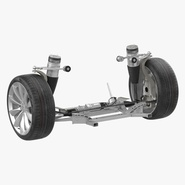 Tesla Model S Front Suspension 2