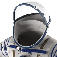 Russian Space Suit Sokol KV2 Rigged. Preview 35