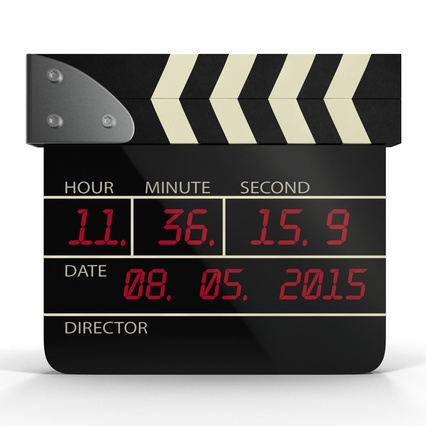 Digital Clapboard 2. Render 5