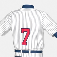 Baseball Player Outfit Generic 8. Preview 23