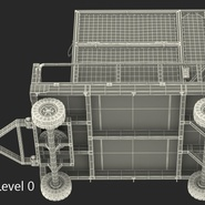 Airport Luggage Trolley Baggage Trailer with Container. Preview 27