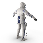 Russian Space Suit Sokol KV2 Rigged. Preview 12