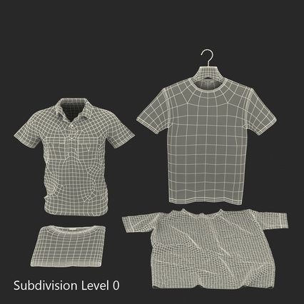 T-Shirts Collection. Render 47