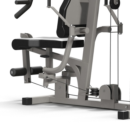 Weight Machine 2. Render 21