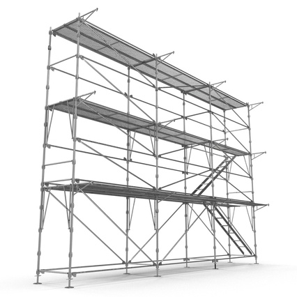Scaffolding Collection 2. Render 24