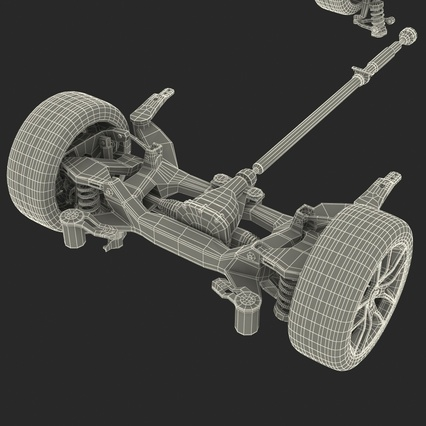 Sedan Chassis. Render 59