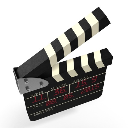 Digital Clapboard 2. Render 18