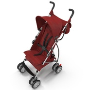 Baby Stroller Red. Preview 13