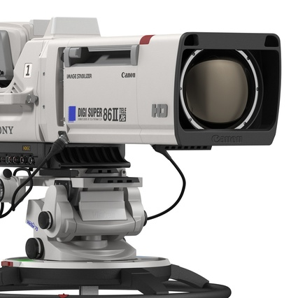 Professional Studio Camera DIGI SUPER 86II. Render 33