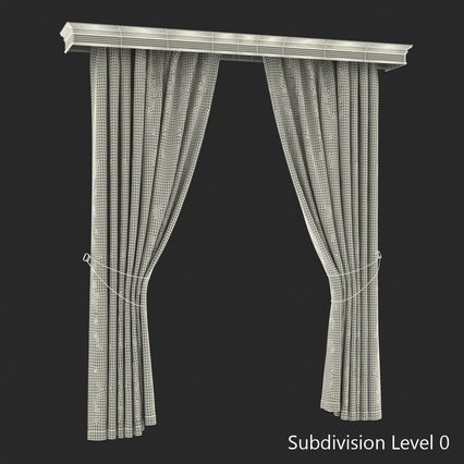 Curtains Collection. Render 66