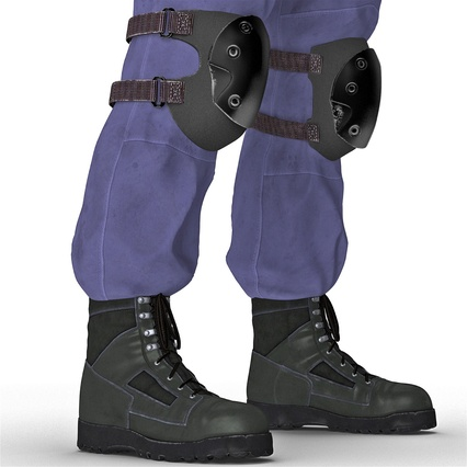 SWAT Uniform. Render 31