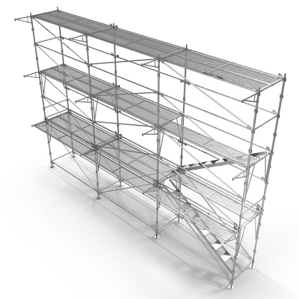 Scaffolding Collection 2. Render 23