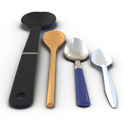 Spoons Collection. Render 9