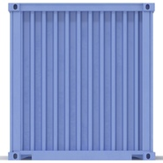 45 ft High Cube Container Blue. Preview 17