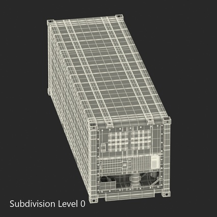 ISO Refrigerated Container. Render 26