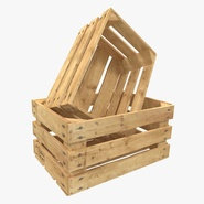 Wooden Fruit Crate