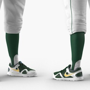Baseball Player Rigged Athletics for Cinema 4D. Preview 10