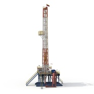 Fracking Gas Platform. Preview 6