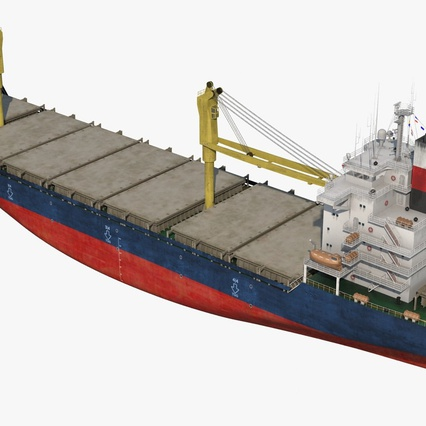 Sea Cargo Ship Generic. Render 14