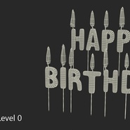 Happy Birthday Candles with Flame. Preview 14