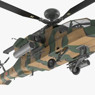 AH-64D Apache Longbow Japan Rigged. Preview 21