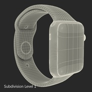 Apple Watch Sport Band White Fluoroelastomer 2. Preview 32