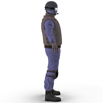 SWAT Uniform. Render 13