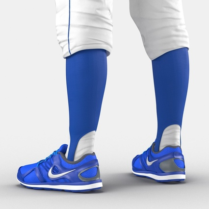 Baseball Player Outfit Mets 2. Render 34