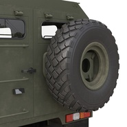 Russian Mobility Vehicle GAZ Tigr M Rigged. Preview 45