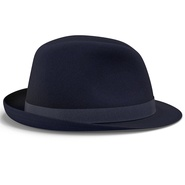 Fedora Hat Blue. Preview 9
