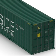 40 ft High Cube Container Green. Preview 21