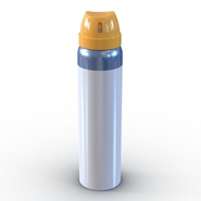 Metal Bottle With Sprayer Cap Generic. Preview 3