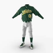 Baseball Player Outfit Athletics 3. Preview 5