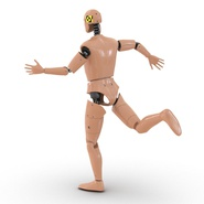 Male Crash Test Dummy Rigged for Cinema 4D. Preview 13