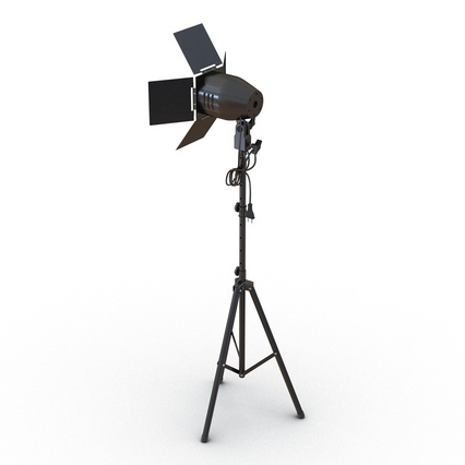 Photo Studio Lamps Collection. Render 21