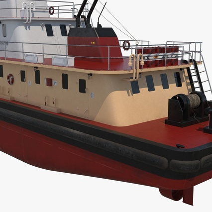 Pushboat. Render 13