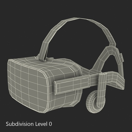 Virtual Reality Goggles Collection. Render 83
