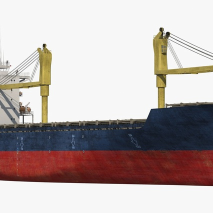 Sea Cargo Ship Generic. Render 9