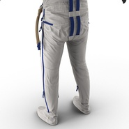 Russian Space Suit Sokol KV2 Rigged. Preview 48