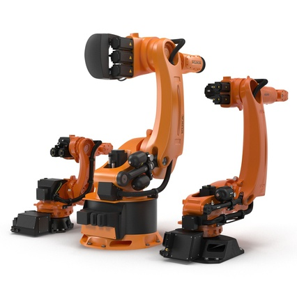 Kuka Robots Collection 5. Render 17