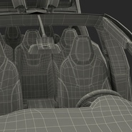 Tesla Model X Rigged. Preview 113