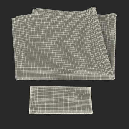 Napkins Collection. Render 37