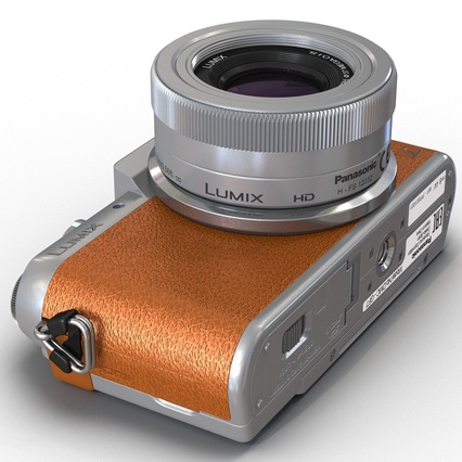 Panasonic DMC GF7 Brown. Render 26